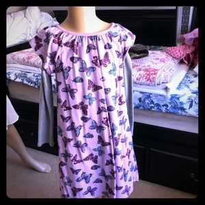 Tea Collection Gently used Butterfly dress size 6